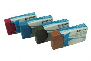 Garryflex Garryson Blocks, Set x 4, 36, 60, 120, 240 Grit Flexible Abrasive Cleaner. M0294
